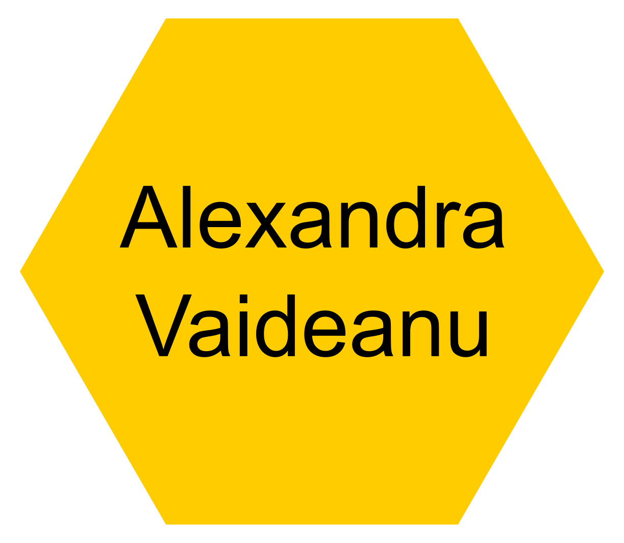 Dr. Alexandra Vaideanu (UCL School of Pharmacy: Post-Doctoral Researcher) - Click this icon to reveal their contact details.